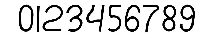 mileage Font OTHER CHARS