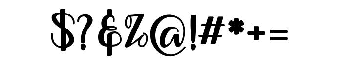 muliana Font OTHER CHARS