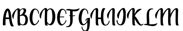 muliana Font UPPERCASE