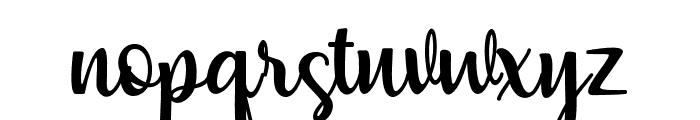 muliana Font LOWERCASE