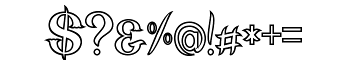 nebenk Bold Font OTHER CHARS