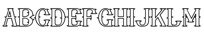 nebenk Bold Font UPPERCASE