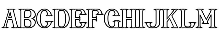 nebenk Bold Font LOWERCASE