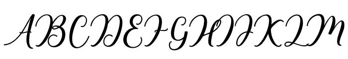 niesha Font UPPERCASE
