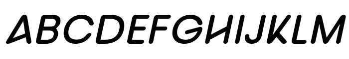 nova-BoldItalic Font UPPERCASE