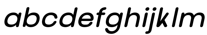 nova-BoldItalic Font LOWERCASE