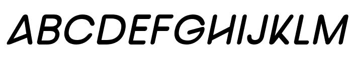 nova Semi Bold Italic Font UPPERCASE