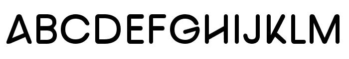 nova Semi Bold Font UPPERCASE