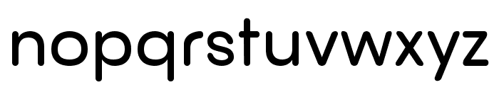 nova Semi Bold Font LOWERCASE