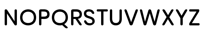 nova-SemiBold Font UPPERCASE