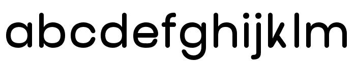 nova-SemiBold Font LOWERCASE