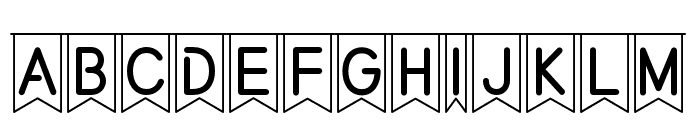 partybyaf Font UPPERCASE