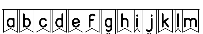 partybyaf Font LOWERCASE