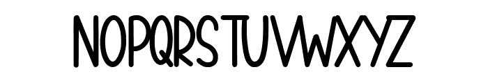 peachyday Font UPPERCASE