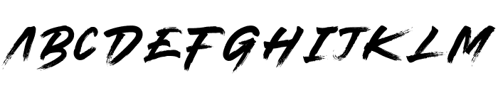 plymouth Font LOWERCASE