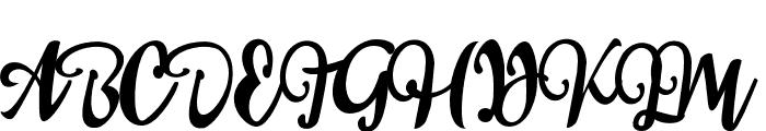 sail tortuga Font UPPERCASE