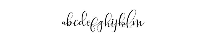 salitaAlt Font LOWERCASE