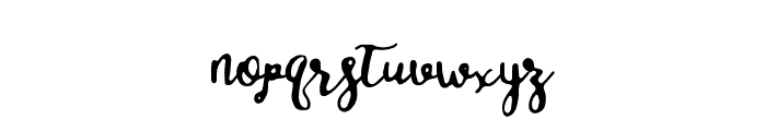 salitasketch Font LOWERCASE