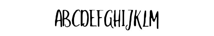salitasketchalt Font UPPERCASE