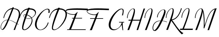 shayndeline Font UPPERCASE