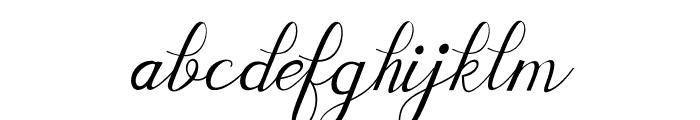 shayndeline Font LOWERCASE