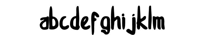smotsmouse-Regular Font LOWERCASE