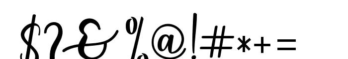 someday-Regular Font OTHER CHARS