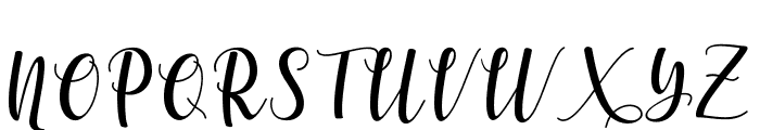 someday-Regular Font UPPERCASE