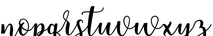 someday-Regular Font LOWERCASE