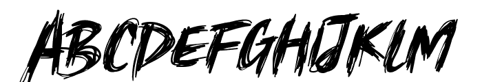 springfeel Font UPPERCASE