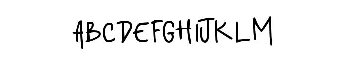 standford Font UPPERCASE
