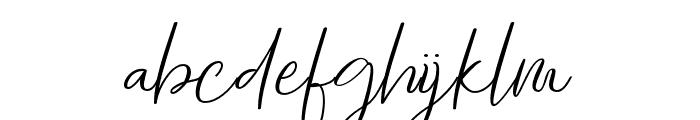 tallentedscript Font LOWERCASE