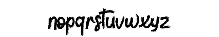 toressbrushfont Font LOWERCASE