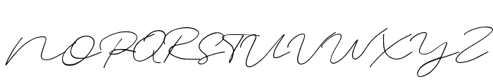 unforgiven Regular Font UPPERCASE