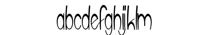upTOP Font LOWERCASE
