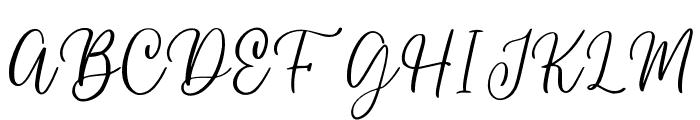 wendling Font UPPERCASE