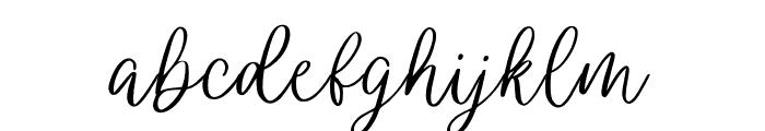 wendling Font LOWERCASE
