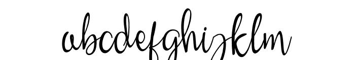widaningsih Font LOWERCASE