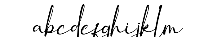 winstyle Signature Font LOWERCASE