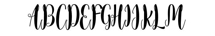 xandrella Font UPPERCASE