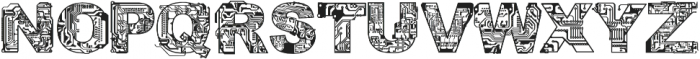 CF Circuit Electrique otf (400) Font UPPERCASE