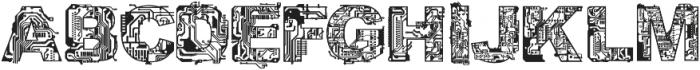 CF Circuit Electrique otf (400) Font LOWERCASE