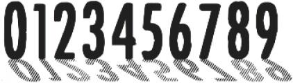 CF Font Shading ttf (400) Font OTHER CHARS