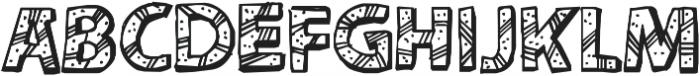 CF Peru Adventure ttf (400) Font UPPERCASE