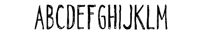CF Alone on the Earth DEMO Regular Font UPPERCASE