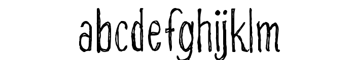 CF Alone on the Earth DEMO Regular Font LOWERCASE