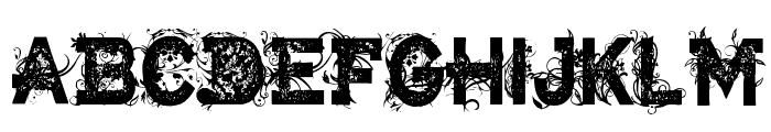 CF Armageddon Regular Font LOWERCASE
