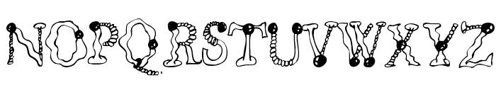 CF Billabong Regular Font UPPERCASE
