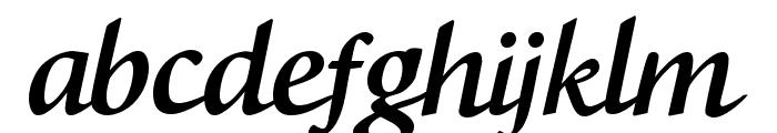 CF Boston Regular Font LOWERCASE