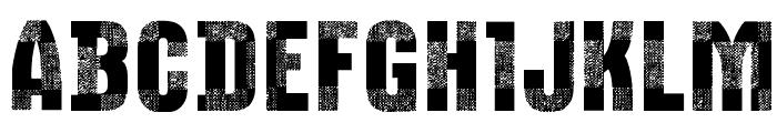 CF Bucherons Regular Font UPPERCASE